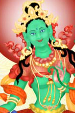 Green Tara, Female Buddha of Enlightened Activity